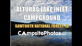 Alturas Inlet Campground, Sawtooth National Recreation Area, Stanley, Idaho Campsite Photos
