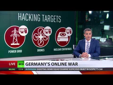 Cyber Warfare  Germany announces new battle ground – the internet