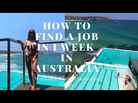 How To Find A Job Within 1 Week In Australia // Work And Travel Vlogs