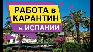 Работа в Карантин в Испании Зарплата