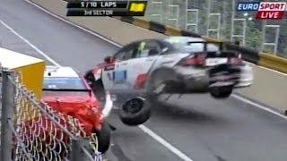 WTCC Macau mayhem: huge crash races and podium Tom Coronel ROAL Motorsport 2013
