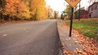 Fall Longboarding in Ohio