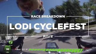 Race Breakdown - 8 Turn Crit with a Brick Road (Lodi Cyclefest P/1/2)