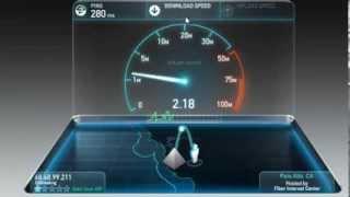 comment tester le débit adsl (ADSLكيفية اختبار سرعة )