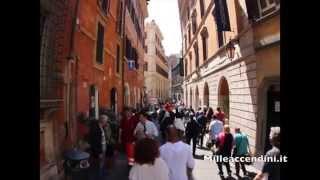 Rome Walking Tour Roma a piedi via veneto piazza del popolo