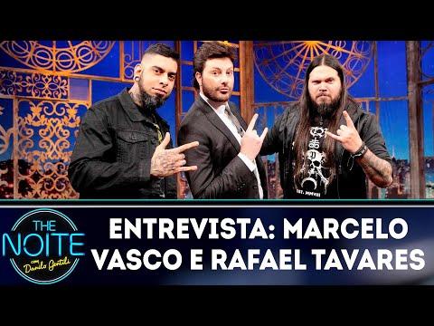 Entrevista com Marcelo Vasco e Rafael Tavares | The Noite (31/08/18)