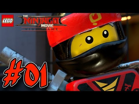 THE LEGO NINJAGO MOVIE VIDEOGAME GAMEPLAY #001 🐉 Kai & Cole | EgoWhity