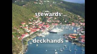Super Yacht Stewardess and Deck Hand Training