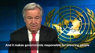Secretary-General's message on Human Rights Day thumbnail