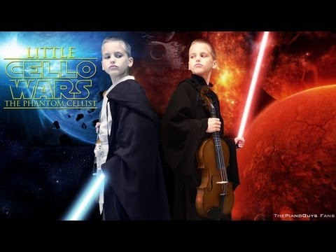 Little Cello Wars (Star Wars Parody) Lightsaber Duel - ThePianoGuys Fans