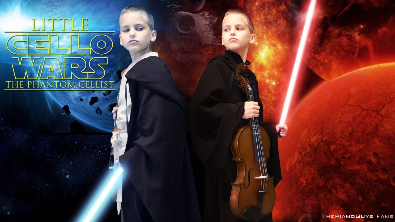 little cello wars star wars parody lightsaber duel thepianoguys
