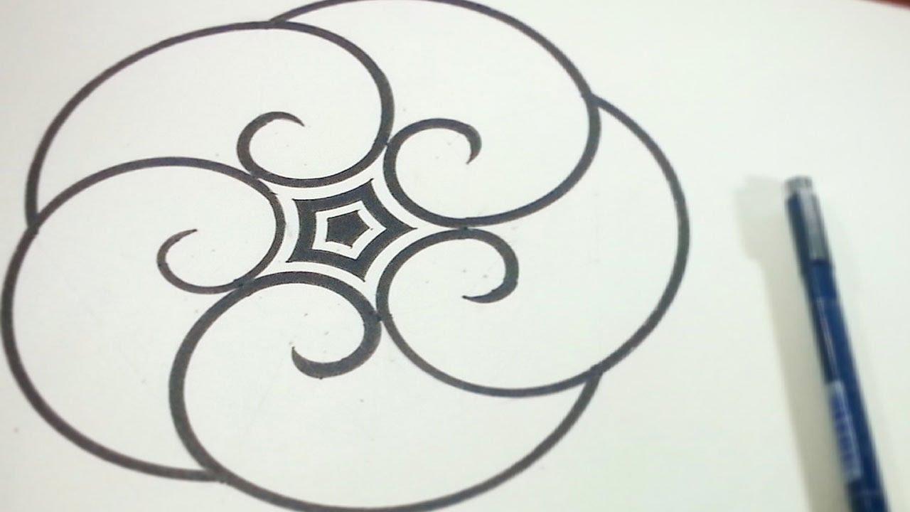 Folding Golden Ratio Spirals Around A Pentagram [How To ...