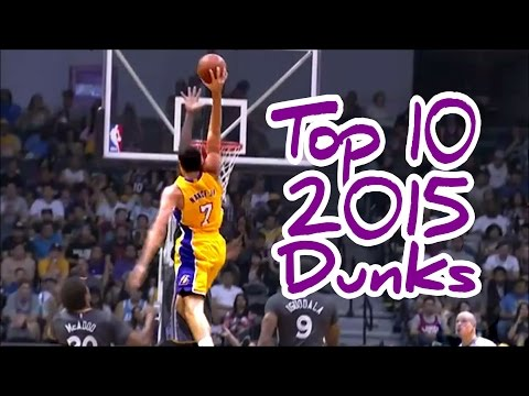 NBA Top 10 Dunks Of 2015