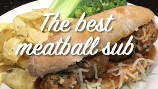 The Best Meatball Sub | Easy and Healthy Meatball Sub