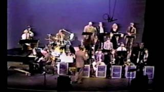 """Three And One"" by Thad Jones performed by UNF Jazz Ensemble 2  Bill Warfield conductor circa 1995"