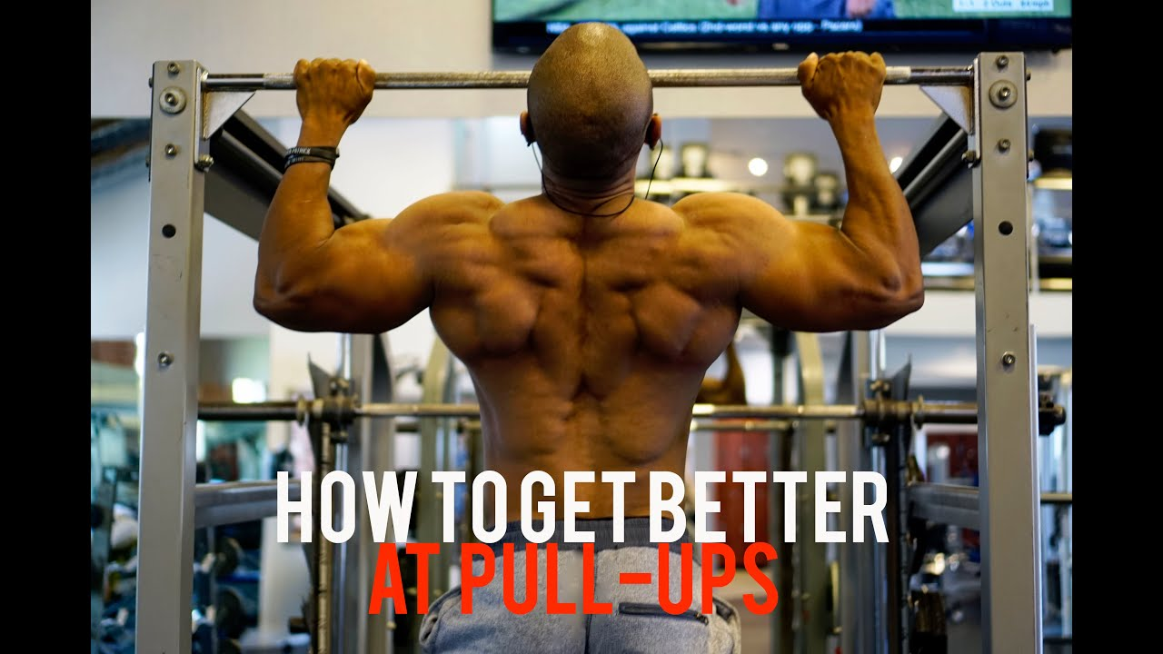 How to increase the number of pull-ups 32