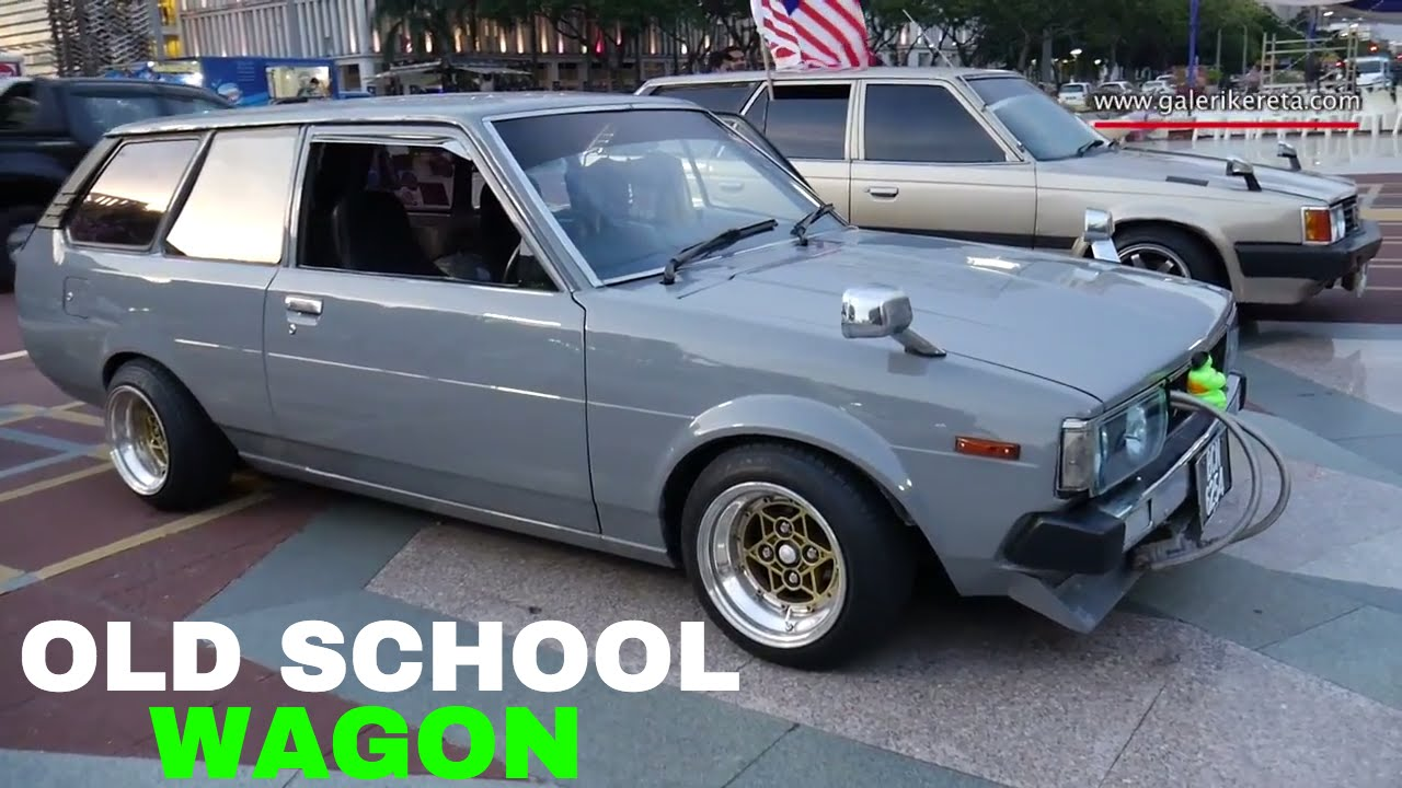 Toyota Corolla Wagon JDM | Old School Car | Modified Autoshow ...