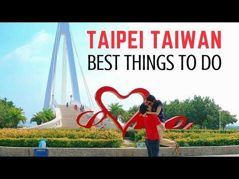 Top 5 Best Things To Do around Taipei Taiwan │Travel Taiwan Guide
