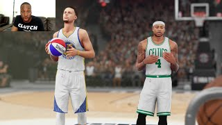 Can the Curry Brothers (Stephen and Seth) Beat Michael Jordan in the 3pt Contest!? Epic Finish!