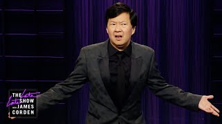 Ken Jeong Takes Over The Late Late Show