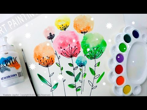Easy Watercolor Painting for Beginners - Level 2 - YouTube