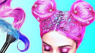 ЛАЙФХАКИ ДЛЯ ВОЛОС ! ПРОСТЫЕ СОВЕТЫ Для Ленивых по Уходу за Волосами / HAIR HACKS