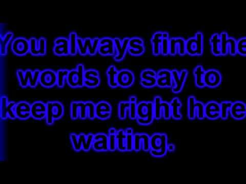 Right Here - Staind - Lyrics