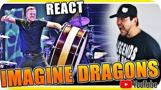 IMAGINE DRAGONS -TAMBORZÃO e muito mais - Marcio Guerra Reagindo React Pop Rock Alternative