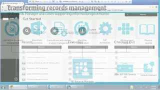 HP Records Manager Demo