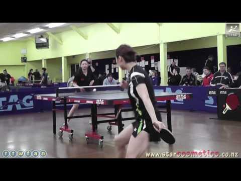 2011 NZ Senior Open: Cath Zhou Vs. Jenny Hung (Open Womens Singles SF)