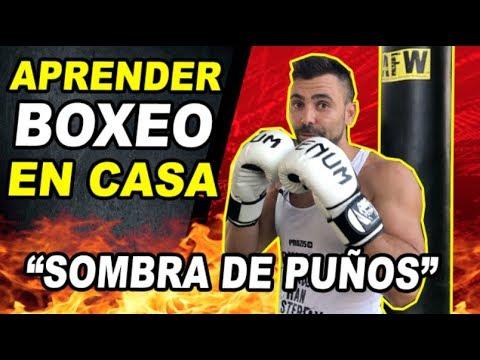 Boxeo Principiantes Entrenamiento Boxeo En Casa Sombra De Puños