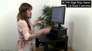 Victor High Rise Collection - Dc100 High Rise Stand-up Desk Converter