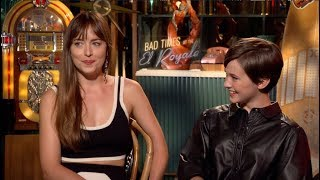 Dakota Johnson & Cailee Spaeny On Selfies, Hidden Cameras & The Abs Of Chris Hemsworth