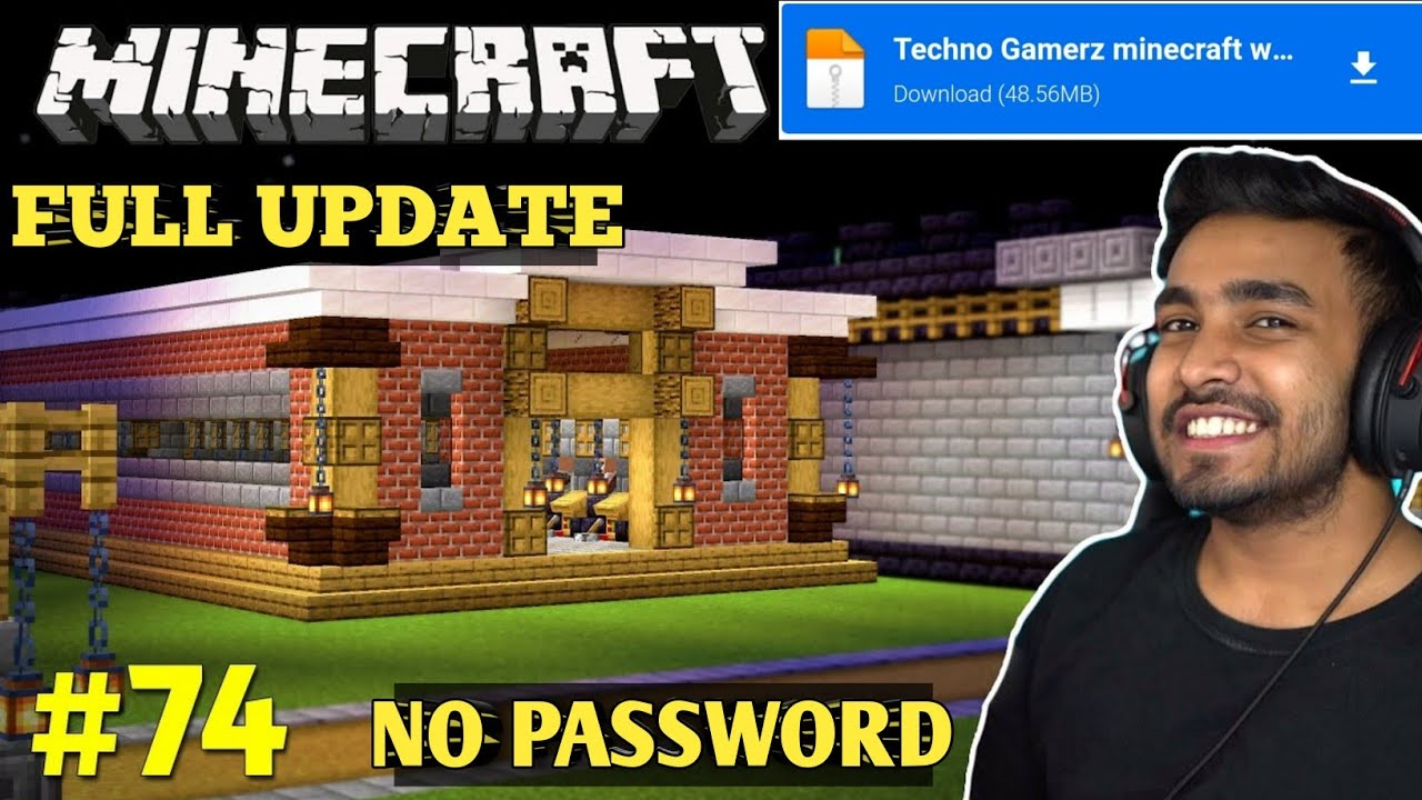 Techno Gamerz Castle Download | How To Download Techno Gamerz Minecraft World In Minecraft PE