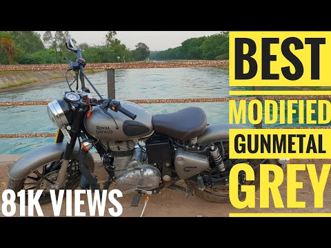 Modified Classic Gunmetal Grey | Royal Enfield Classic 350 | Classic 350 Accesories