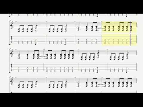 System of a Down Aerials Acoustic Guitar Tab