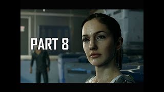 DETROIT BECOME HUMAN Gameplay Walkthrough Part 8 - CyberLife Warehouse (PS4 Pro 4K Let's Play)