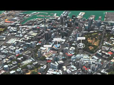 紐西蘭奧克蘭中央商務區介紹-台灣版