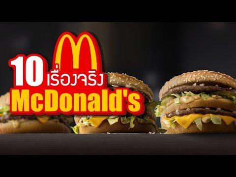 10 เรื่องจริงของ McDonald's (แมคโดนัลด์) ที่คุณอาจไม่เคยรู้ ~ LUPAS