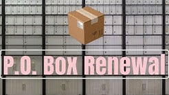 How To Renew Your Business P.O. Box