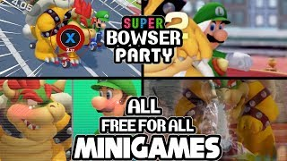 Super Mario Party All Free For All Minigames [3P]
