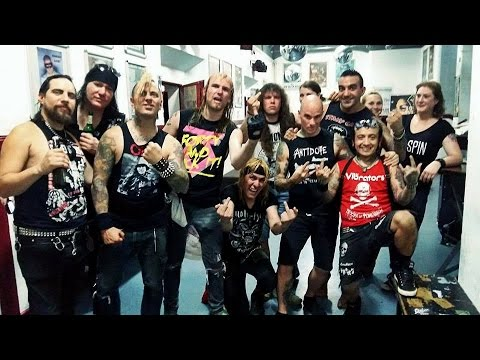 Total Chaos and The Casualties European Tour Promo 2016