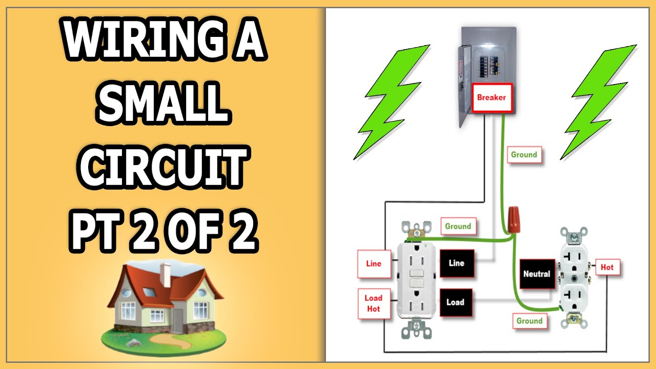 Wiring Small Garage Circuit Pt 2 Of Youtube