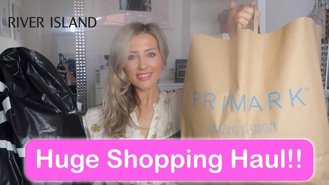 fc97041f5 HUGE SHOPPING HAUL! PRIMARK, RIVER ISLAND, ASOS & NEXT – Shopping time