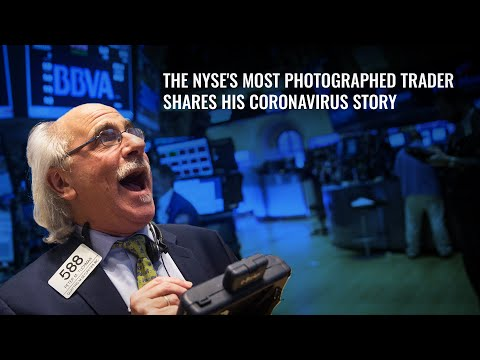 'Most Photographed' NYSE Trader Shares His Coronavirus Survival Story