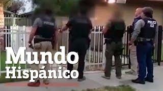 ICE realiza redada de 50 inmigrantes en vecindario