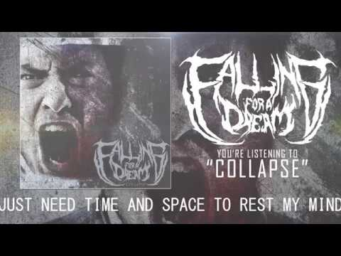 Falling For A Dream - Collapse [OFFICIAL LYRIC VIDEO]