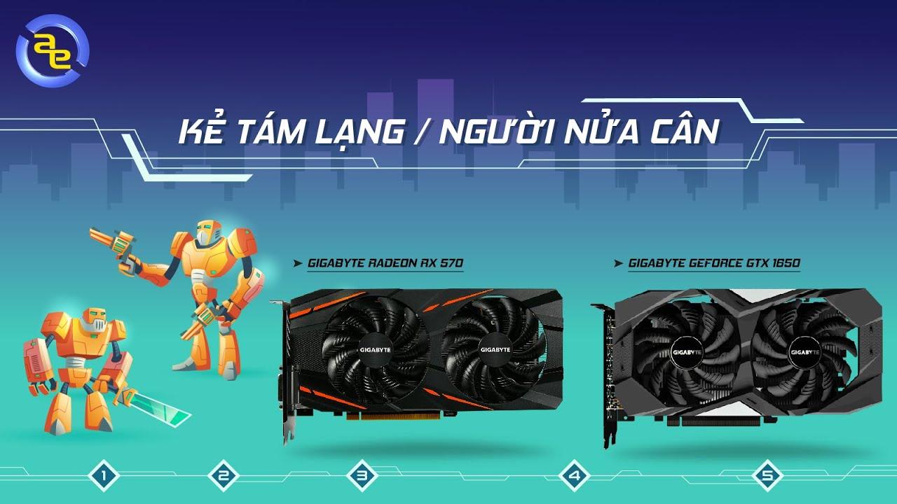 So sánh NVIDIA Geforce GTX1650 vs AMD RX570 4GB – Kẻ 8 lạng người 1 cân | An Phat PC