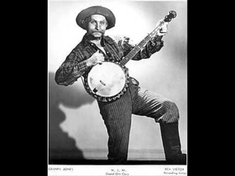 Grandpa Jones - Mountain Dew 1969 (Country Banjo Songs) Hee Haw