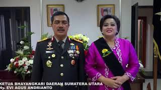 Kapolda Sumatera Utara Brigjen Pol Drs  Agus Andrianto, S H  Mengucapkan Selamat